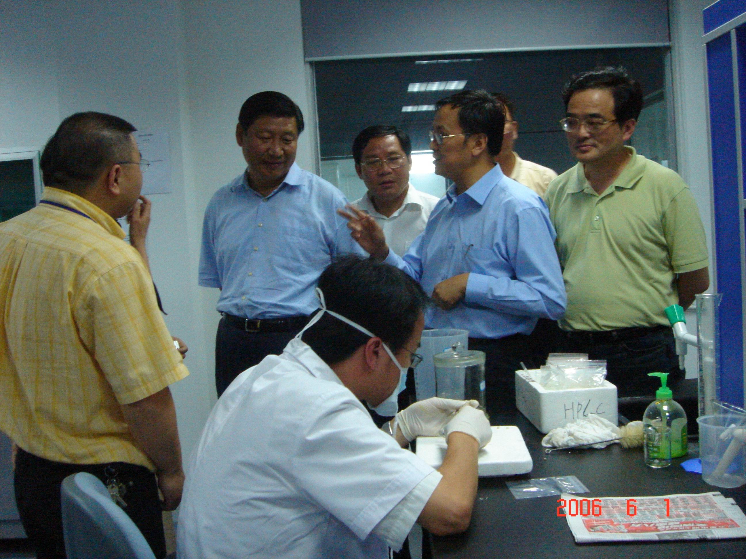 2006年6月1日,时任浙江省委书记习